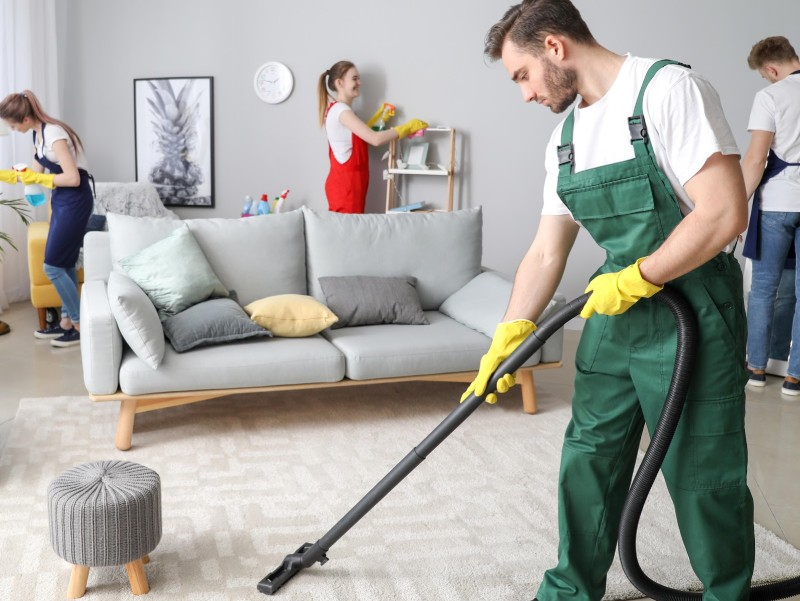Make Home Cleaning a Group Activity