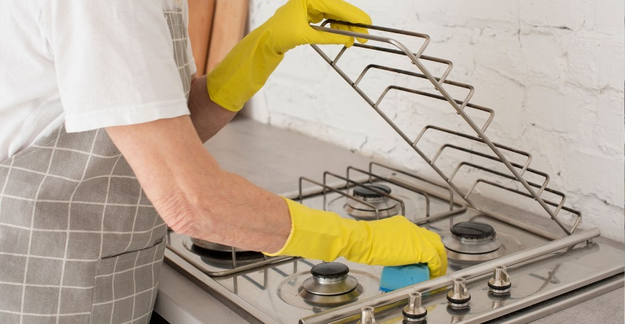 Eliminate Stains and germs in the kitchen
