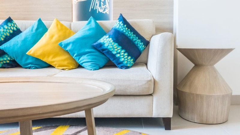 cushions and couch accessories